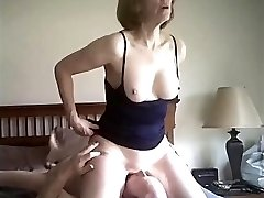 'Horny Platinum-blonde Mature Fuck on our date'
