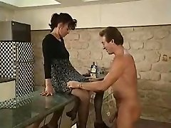 Two Unshaved French Matures Fucked LST