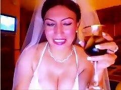 webcam bride