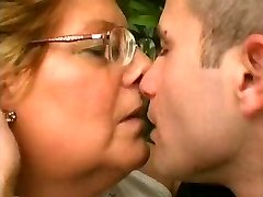 Chubby Grandma Loves Younger Cock