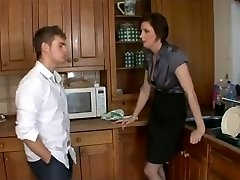 Insane mom to buddies and fuck step-son