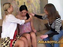 Girl-girl Threesome