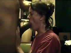 housewife female bbc deep blowjob