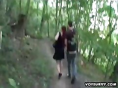 Mature wife outdoor hardcore activity with jizz