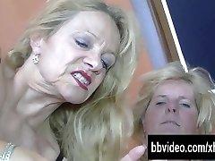 Bi german mature gals fucking in threesome