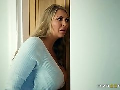 Brazzers - Mommy and stepdaughter and one lucky cock