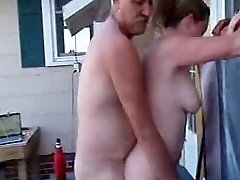 My Boss Boinks My Wife In the Outdoor Spa