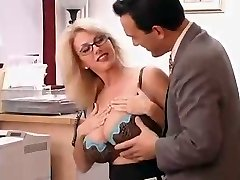 Big Boobed Mother with her Boss...F70