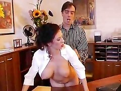 Very super hot secretary