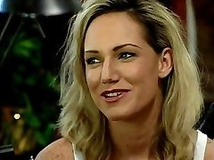 Ash-blonde chick banged in the office