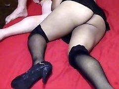 Cuckold hubby filming his biotch wifey fucking
