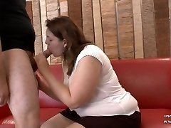 Inexperienced BBW french tramp analyzed and fisted for her casting