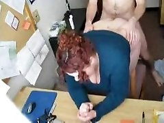 HOT FUCK #57 (Redhead Plus-size Assistant in the Office)