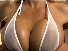 White micro bikini