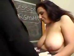 plumper lesbian teacher and pupil