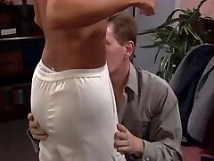 Towheaded fucked and titties creamed