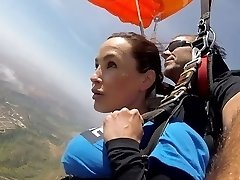 The News @ Bang-out - Skydiving With Lisa Ann! Pt 2