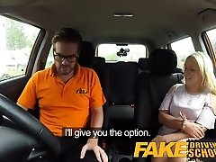 Fake Driving School Sexual discount for big cupcakes ash-blonde
