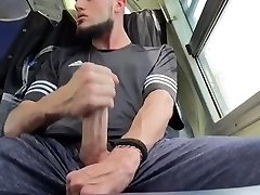 My Large Dick cousin strokes in behind my car