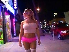 Blond hotwife slut fucking strange guy