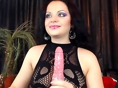 dark haired bj and pussy play