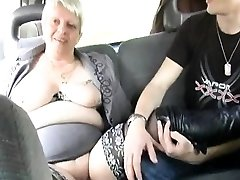 He collective his wife Murielle in an outdoor gangbang