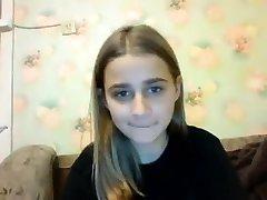 teen katrin kyti hot flashing milk cans on live webcam