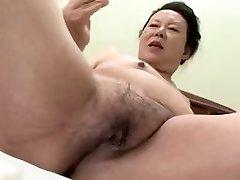 Chinese BBW Grannie shino moriyama 66-years-old H-0930