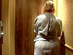 Mature french maid with Humungous ass