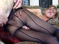 Anal-Pantyhose Video: Rosa and Gerhard