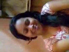 Desi Girl Orbs Pressed By Boyfriend