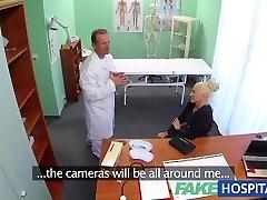 FakeHospital Sloppy doctor fucks busty porno star