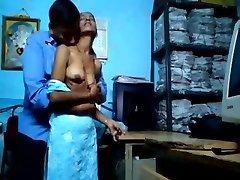 Indian Women Having Romp at office