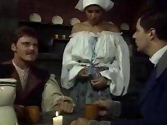 Dalila - Italian Maid ravaged by Boss and acquaintance