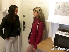 Shrima Malati and Gina Gerson have hook-up at home