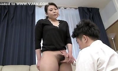 Exotic Japanese chick in Jaw-dropping Blowjob, HD JAV scene