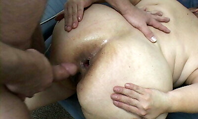 Mexican Granny Maid Gets Anal Manhandled