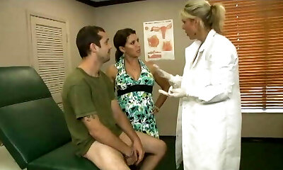Billy's stepmother takes him to the therapist for a check up