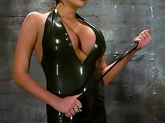 Gorgeous and exotic dominant females are a rare find, and slave boy Rico is a lucky bastard to...