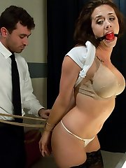 Sexy Chanel Preston is stopped at an airport security line when they notice something suspicious...