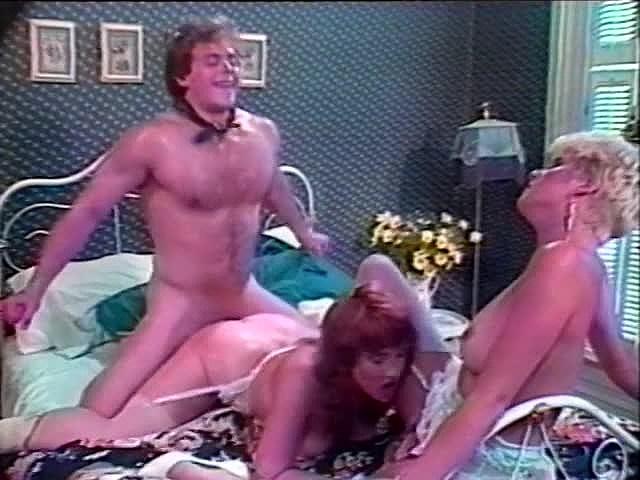 Vintage Nina Hartley Threesome