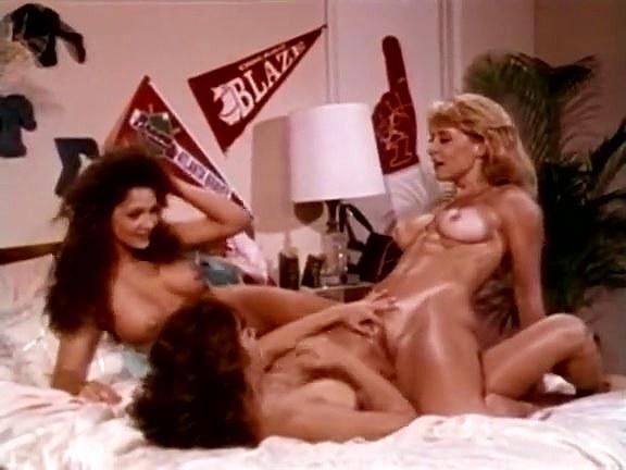 Nina Hartley Anal Threesome