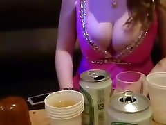 Asian woman with mature woman woods tits