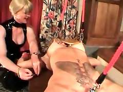 My Sexy Piercings - pierced MILF slave bdsm girl bus grope action
