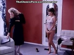 Erica Boyer, John Leslie, Rachel Ashley in vintage porn
