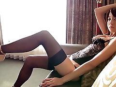 Japanese girls wtf huge stockings