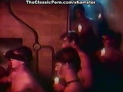 Ginger Lynn Allen, Traci Lords, Tom Byron in vintage porn