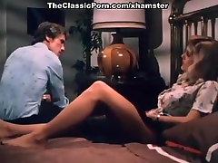 John Holmes, Chris Cassidy, Paula Wain in vintage sruthihassa sex video scene