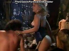 Nina Hartley, Jon Dough in 80&039;s japanese porno game video of a barbarian