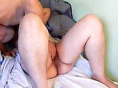 Hairy dasi mom sleeping loving to lick my ass